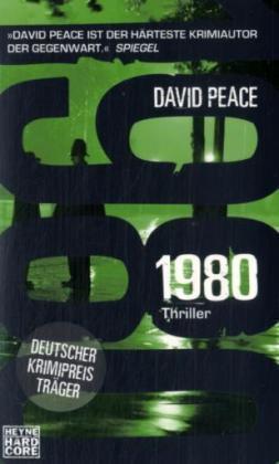 1980 von David Peace (2008, Taschenbuch)