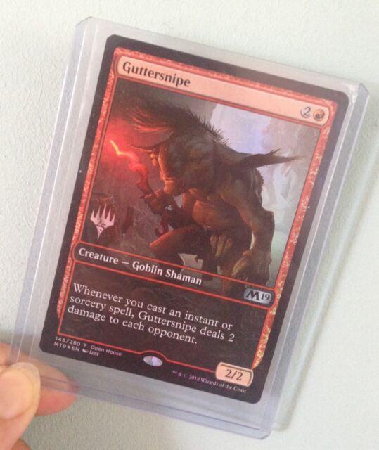 MAGIC THE GATHERING MTG Guttersnipe Promo Card 145/280 - Creature Goblin Shaman