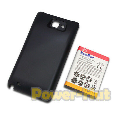 5200mah Extended Battery + Cover For Samsung Galaxy Note GT-N7000 i9220