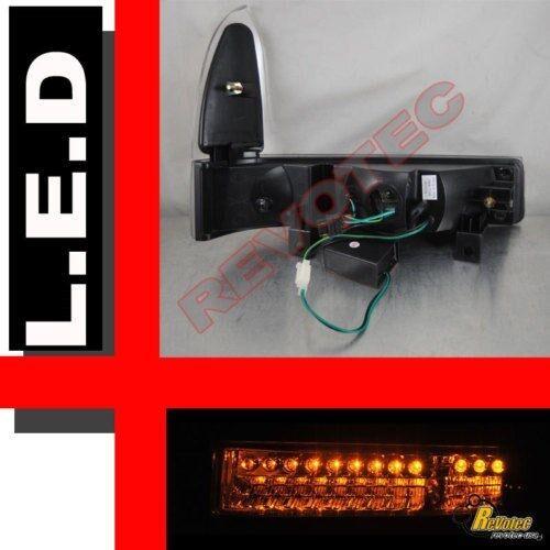 99-04 Ford F250 F350 SuperDuty Excursion Chrome LED Signal Corner Parking Lights