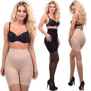 Nice Slim Body Strumpfhose 20 Den Mit Bikini-höschenteil 2 Farben S-l Strumpfhosen Kleidung & Accessoires