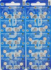 25 pc 377 Renata Watch Batteries SR626SW FREE SHIP 0% MERCURY