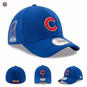 11dbbd72b27 Chicago Cubs New Era Hat Cap 2017 Gold Program 39THIRTY Flex World ...