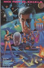 Nick Fury vs. S.H.I.E.L.D. Books 6, 5, 4 Marvel 1988 VF Prestige Format LOT (3)