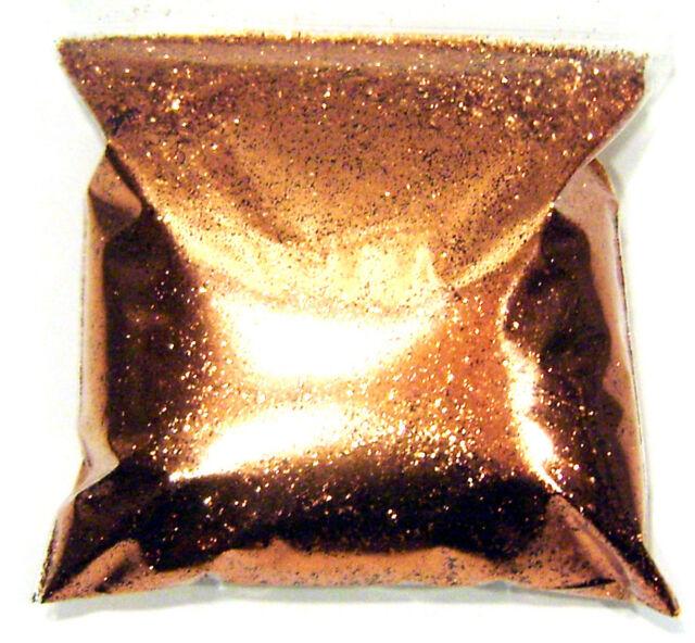 "9oz / 266ml Shiny Copper .015"" Metal Flake Auto Paint Additive Flakes - LF1532"