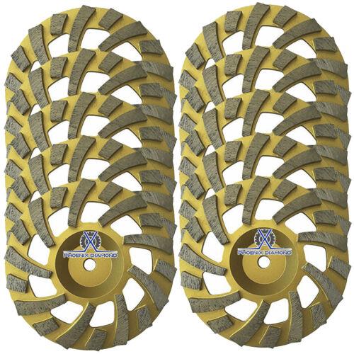 "5//8-11/"" Arbor 4/"" Long Lasting Diamond Grinding Wheel for Concrete,Granite,Epoxy"