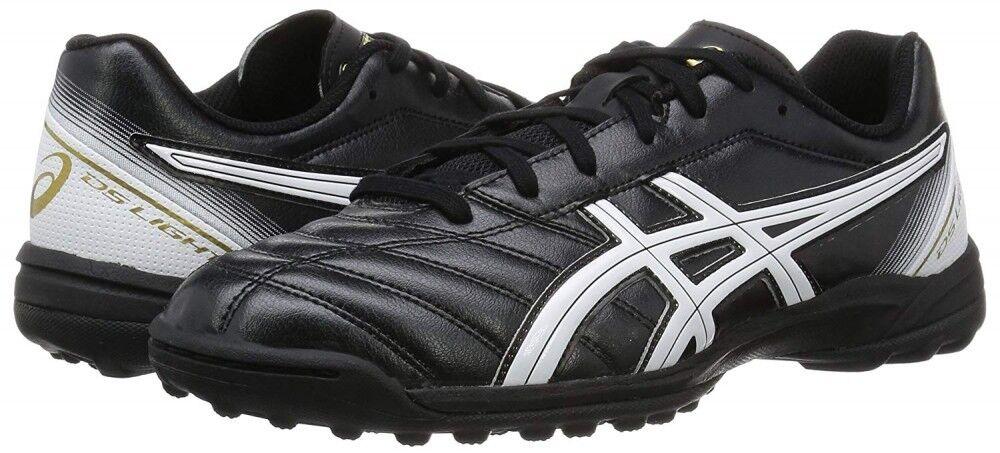 Nuevo Nuevo Nuevo Asics Fútbol Zapatos Ds Ligero 2 Tf Sl Tst666 9001 Negro blancooo con De 899754