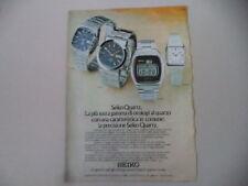 advertising Pubblicità 1976 OROLOGI SEIKO CZ 031/CM 013/CY 003/YM 009