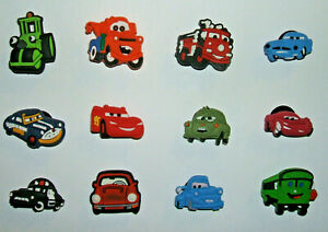 SHOE-CHARMS-D1-inspired-by-TRANSPORT-CUTE-CAR-TRUCK-12DCA-Pack-of-12