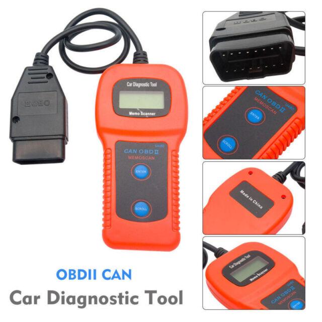 U480 Engine Diagnostic Scanner Car Fault Code Reader Can Bus Obd2 EOBD Scan  Tool