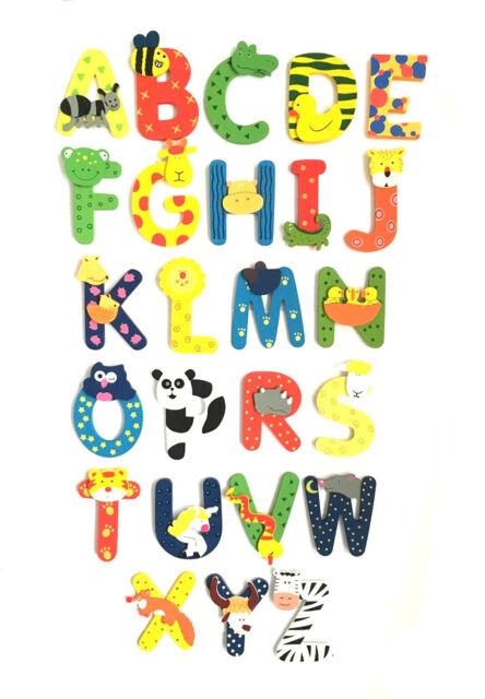 Wooden Girls Alphabet Letters Personalised Bedroom Wall Door Name