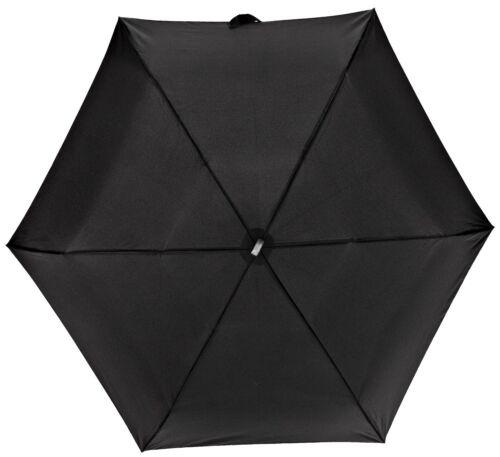 Fulton Femmes Hommes Ultralite 1 Compact Pliant Parapluie Noir