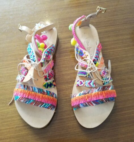 Hoop Sandals Multi Hula Linardaki Leather Elina xwISqBUq