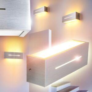 design wandlampe flur g ste wohn zimmer lampen b ro diele leuchten up down ebay. Black Bedroom Furniture Sets. Home Design Ideas