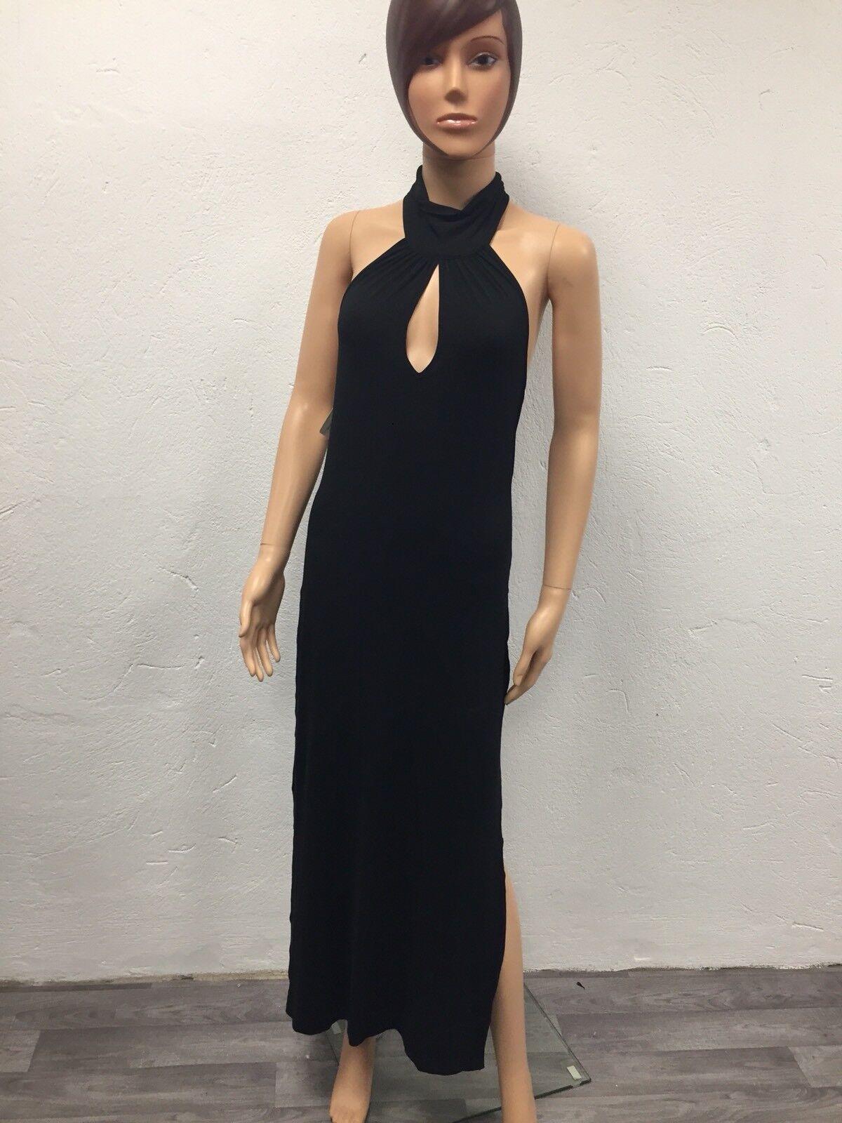 Kleid Lang Strand Lise Charmel SCHWARZ GRÖSSE S Made IN France