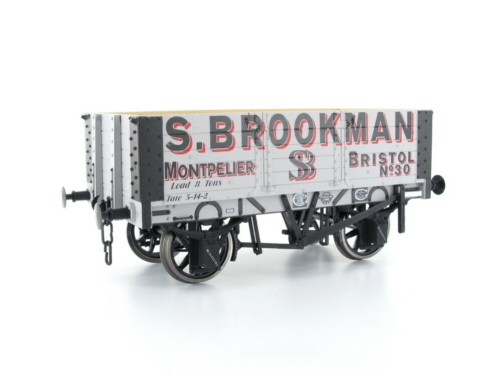 Dapol 7f-052-001 abierto vagones 5 s. plank Brookman nº 30 pista 0