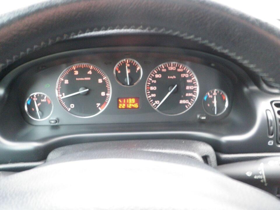 Peugeot 406 2,2 TS4 Benzin modelår 2001 km 222000 træk ABS