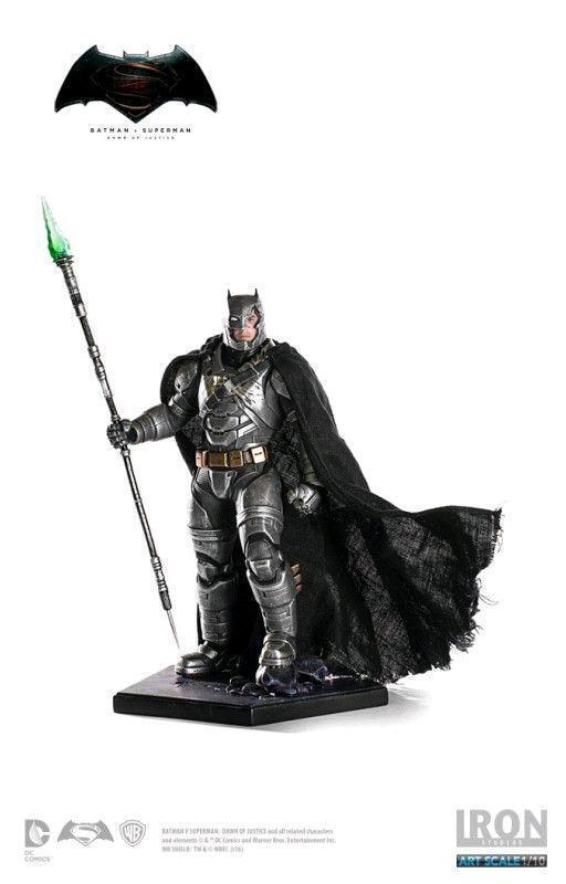 DC Iron Studios  Bathomme v Superhomme Armoruge Bathomme Battle 1 10 Scale Statue  plus abordable