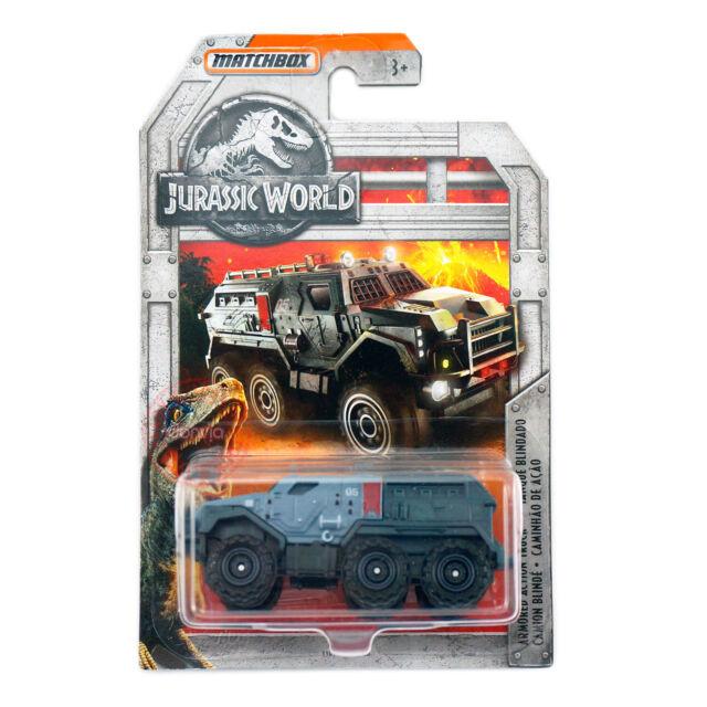 Matchbox 2018 Jurassic World Armored Action Truck Tanque Blindado Die-Cast