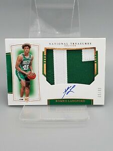 2019-20-National-Treasures-Romeo-Langford-Rookie-Patch-Auto-Bronze-49-RC-RPA