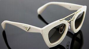 8ccee25f7871 Image is loading 700-Genuine-PRADA-MILANO-Ornate-Saffiano-Leather-Sunglasses -