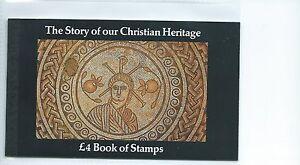 wbc. GB - PRESTIGE STAMP BOOKLETS - 1984 - DX5 - CHRISTIAN HERITAGE