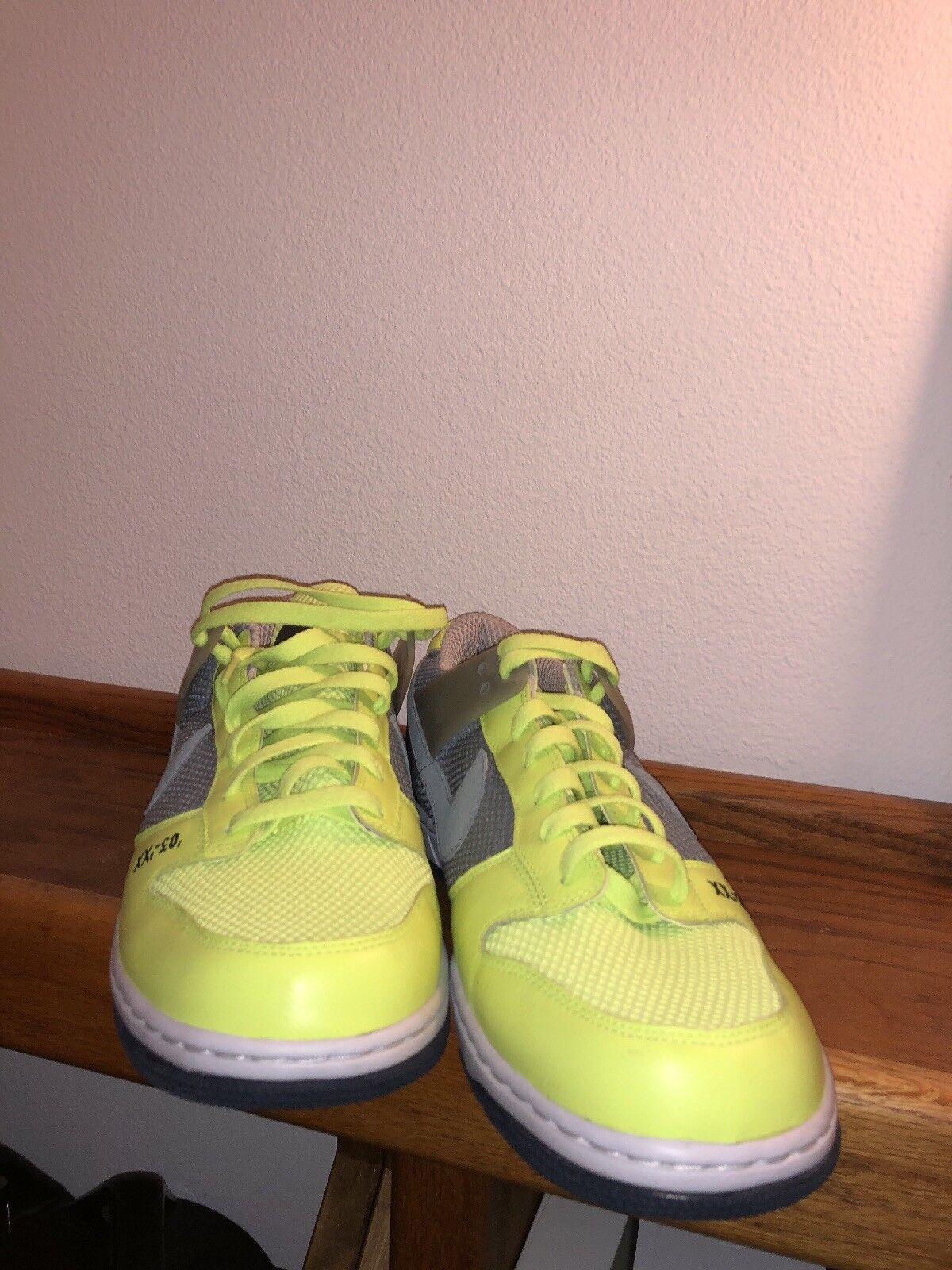 2007 Nike Air Zoom Dunk Sz14. Low Dunk Ronaldinho Union Grey Volt Sz14. Dunk 315207 002 619958