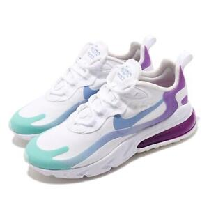 Nike Air Max 270 React Sneakers WhiteLight BlueAurora Green Black