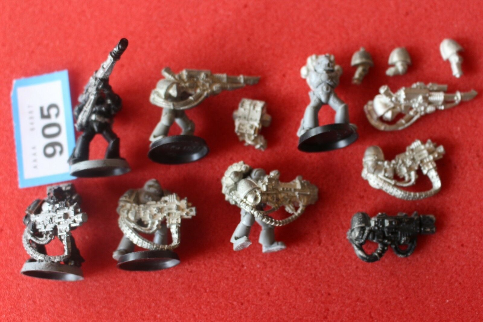 Spiele warhammer 40k space marines devestator - workshop teil metall - wh40k