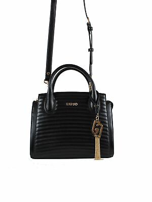 LIU JO A69046E0040 borsa donna ecopelle tracolla NERO   eBay