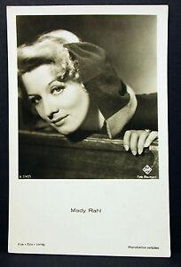 Mady-Rahl-Actor-Movie-Photo-Foto-Autogramm-Karte-AK-Lot-G-9654
