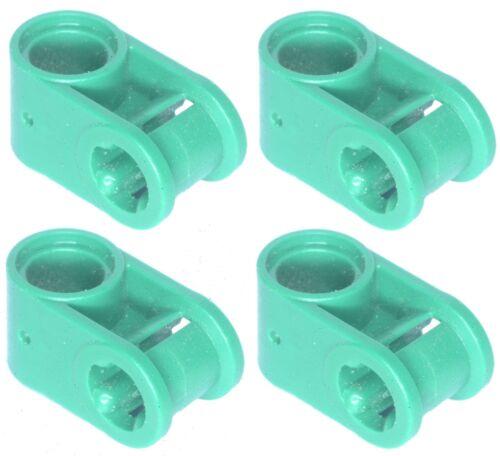 Missing lego brique vert de 6536 X 4 Technic Axle menuisier perpendiculaire