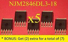 5 +Bonus NEW IC NJM2846DL3-18//NJM2846DL3 PRO-150FD PRO-111FD VOLTAGE REGULATOR