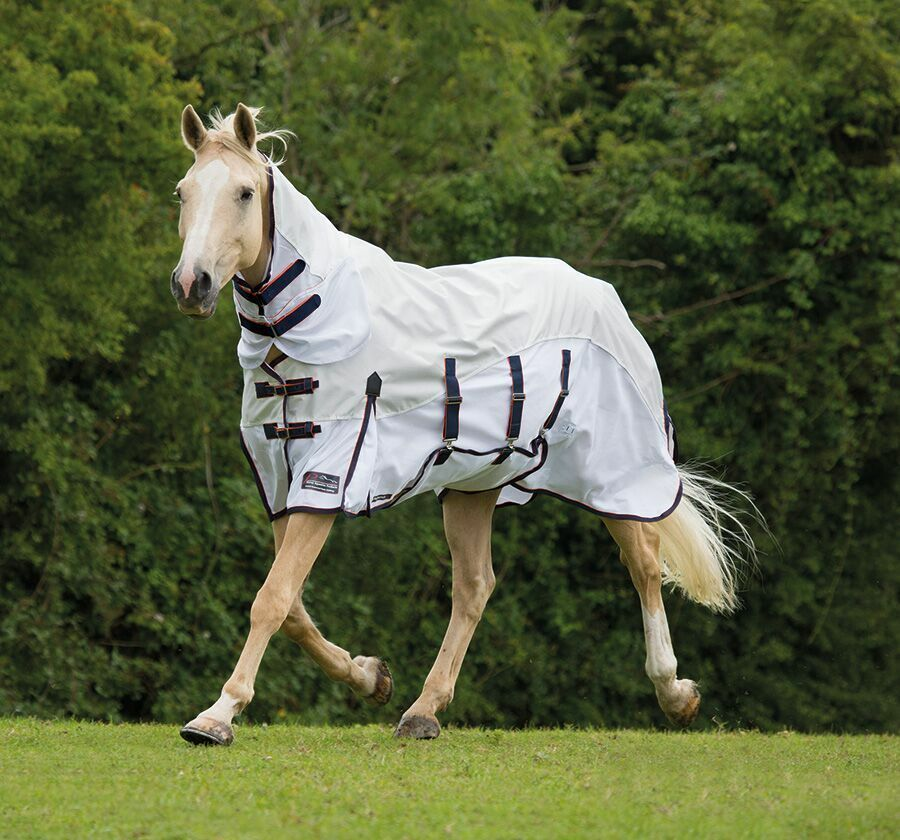 Shires  performance maxi flow waterproof mesh fly rug turnout  40% off