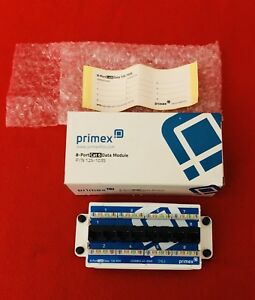 New Primex 125-1035 8-port Cat 6 Data/voice Module 8-rj45 110 Idc's Verge Media Bringing More Convenience To The People In Their Daily Life Computers/tablets & Networking Enterprise Networking, Servers