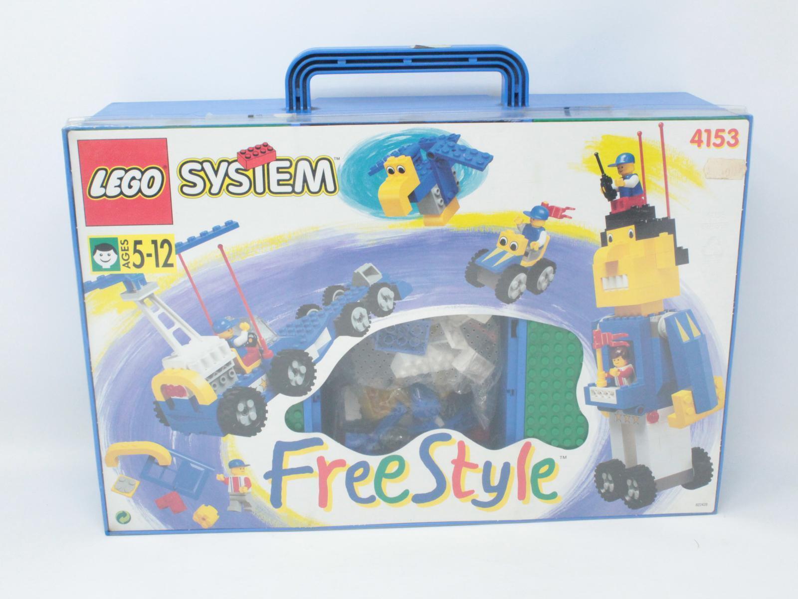 LEGO SYSTEM FREE STYLE LEGO 4153 FONDO MAGAZZINO [P09-011]