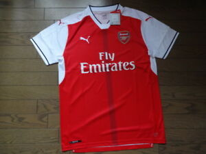 a89f0f855 Arsenal 100% Original Puma Jersey Shirt 2016 17 Home L Still BNWT