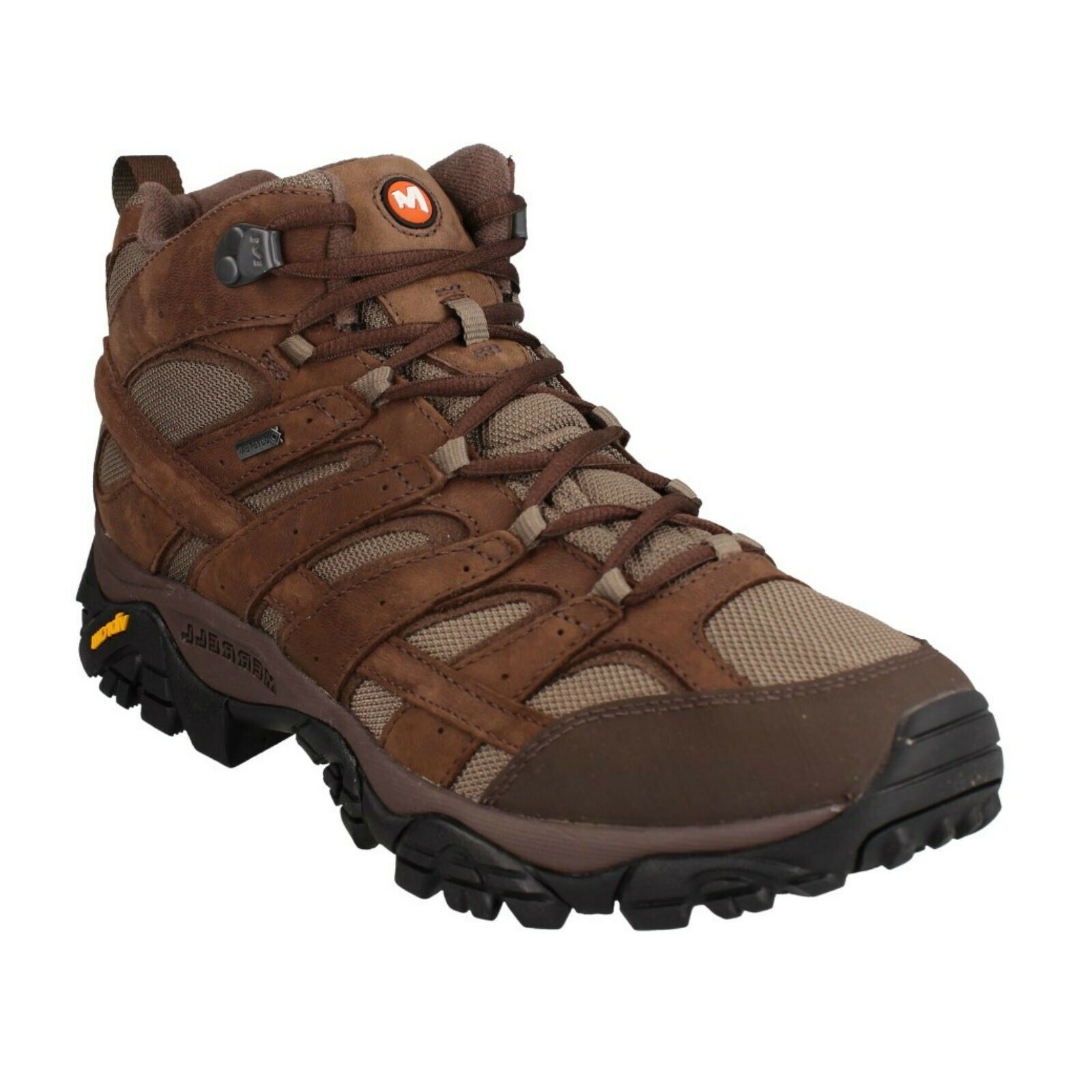 Merrell J46553 Moab 2 Smooth Mid GTX Mens Trekking Hiking Waterproof Boots
