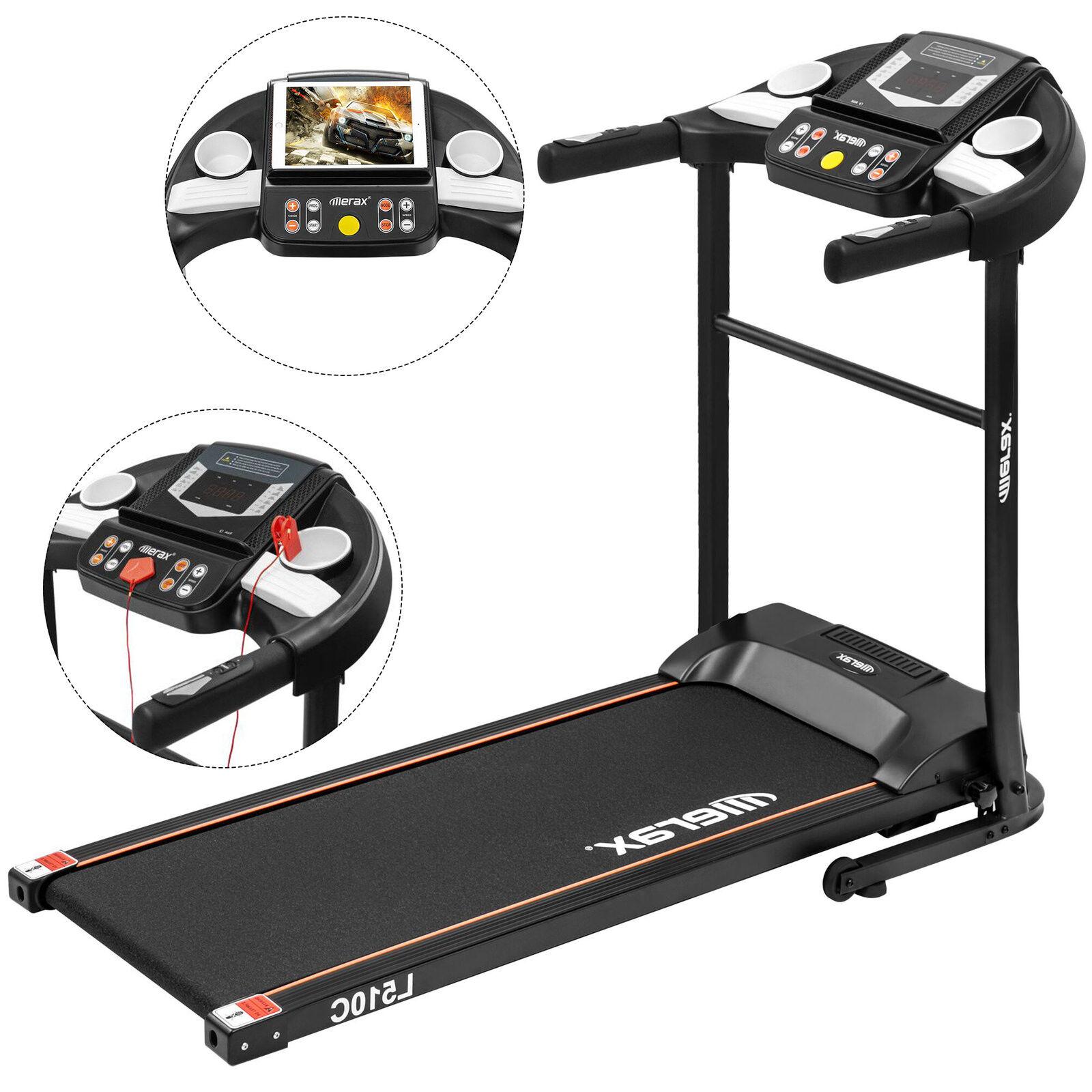 e515d94caa2 Merax 1.5HP Folding Electric Motorized Treadmill - MS039013 for sale ...