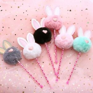 Cute-Pen-with-Candy-Rabbit-Fur-Fluffy-Decoration-School-Stationary-Gift-for-Kids