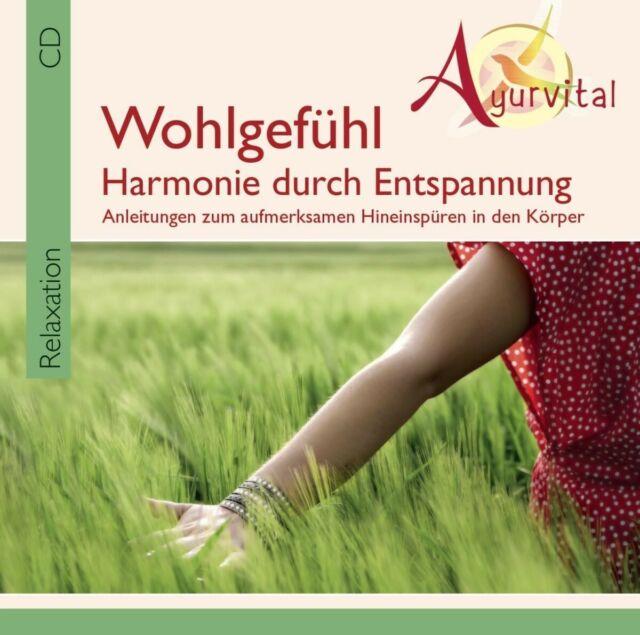 AYURVITAL-WOHLGEFÜHL-HARMONIE DURCH ENTSPANNUNG (JEAN-PIERRE GARATTONI) CD NEUF