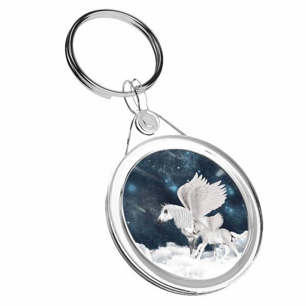 1 Pegasus Mitologia Fantasy X Cool-portachiavi Ir02 Mamma Papa 'regalo Di Compleanno #16688