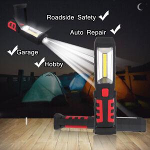 COB-LED-Rechargeable-Work-Light-Magnet-Flashlight-Hook-Folding-Torch-Lamp