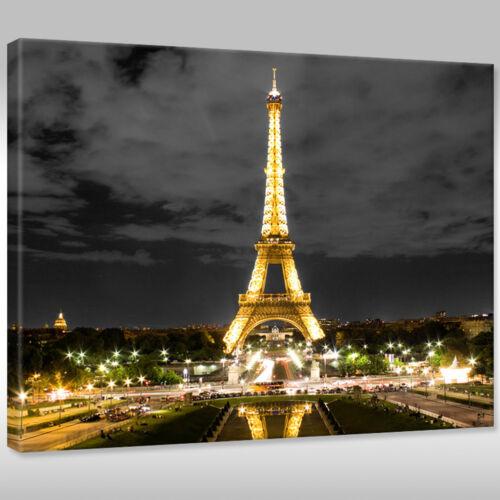 Leinwnabilder Canvas la fresque art pression Architecture Tour Eiffel Paris France