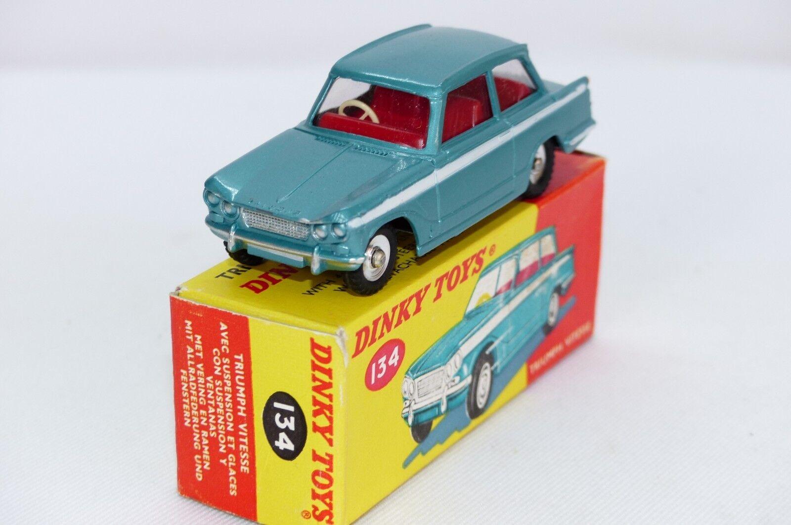 DINK Toy No 134 est est est le modèle de la TRIUMPH VITESSE VNMB | De Première Qualité  | élégante Et Gracieuse  | En Ligne  29a334