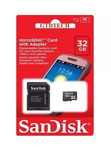 SanDisk-4GB-8GB-16GB-32GB-Micro-SD-SDHC-Class-4-TF-Flash-Memory-Card-Adapter-Lot