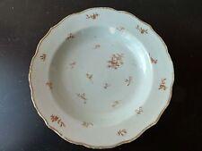 Assiette Creuse Porcelaine Chine COMPAGNIE DES INDES 18eme Antique Chinese Plate