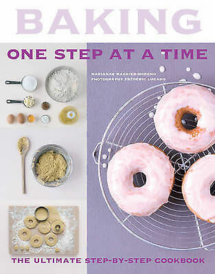 Moreno, Marianne Magnier, Baking: One Step At A Time, Very Good Book