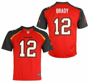 Detalles acerca de Nike Tampa Bay Buccaneers Nfl Juvenil Tom Brady #12 Juego Equipo De Jersey- mostrar título original