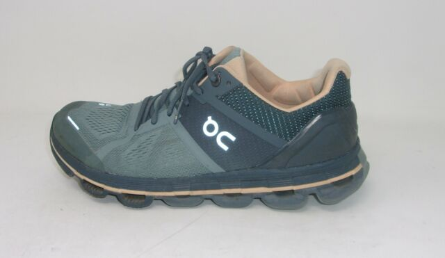 On Running Women's Cloudace Running Shoes, Sea/Almond, 9 US (GENTLY USED)
